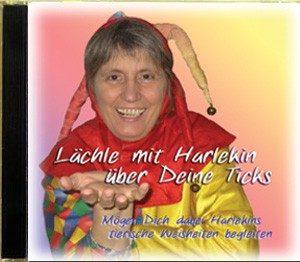 Lächle mit Harlekin übe Deine Ticls Hör-CD
