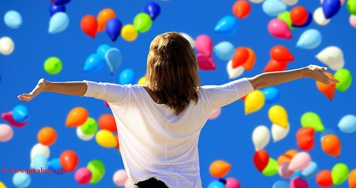 Das innere Kind erfreut sich am Glück